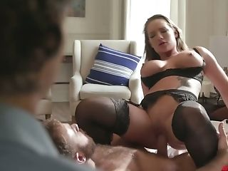 Cheating Spouse Loves Watching His Whore Wifey Cali Carter Having...