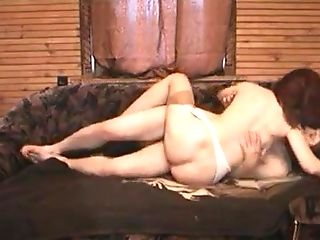 Boy And Sandy-haired Matures Mom In Stockings