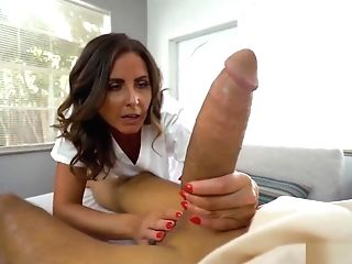 Helena Price In Giant Dick Fits In Cougar Nurse Honeypot