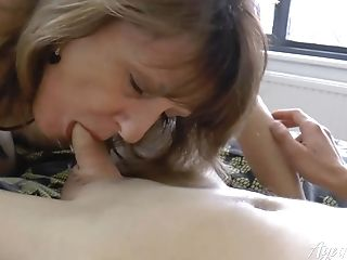 Agedlove Shows Steamy Mom With Handy Stud