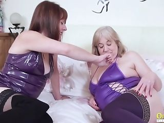 Oldnanny Brit Matures Sapphic Tits And Cooter