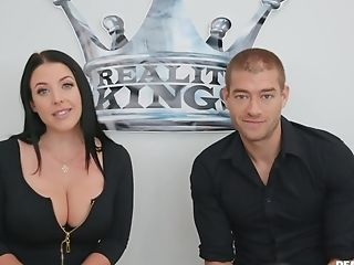 Hot Mom With Giant Tits Angela Milky Gets Fucked