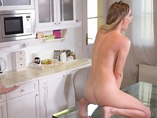 Polina Maxima Exotic Butt-pounding In The Kitchen