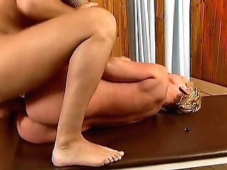 Matures With Brief Hair Gets Fucked In Sauna