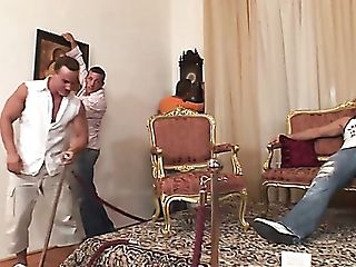 Buxom Hungarian Museum Attendant Betty Spark Gets Violently Fucked