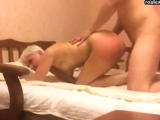 Blonde Mom Loves Hard Assfuck Pounding