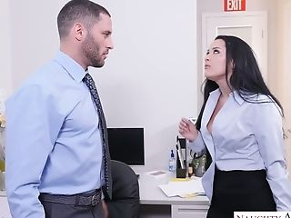 Office Bitch Katrina Jade Hooks Up With Hot Blooded Chief's...