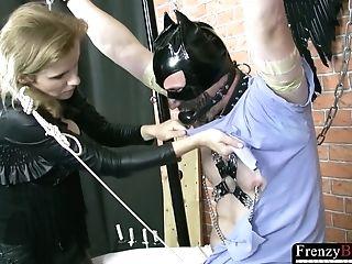 Sadism & Masochism  Female Dom Cougar Hard Masculine Stick...