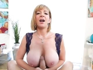 Huge-titted Titty Fucked Lady Sara Jay Gets Trunk & Jizz All...