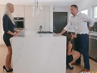 Abigail Mac Makes Love With Keiran Lee In The Bedroom
