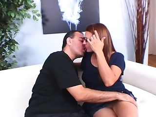 Matures Sandy-haired Wifey With Glasses Gheating Her Hubby With ...