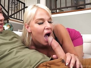 Buxom Matures London Sea Loves To Please Her First-timer Neighbor