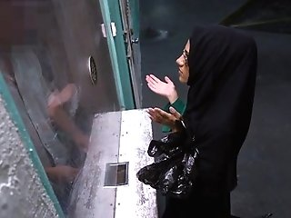 Arab Public Desperate Arab Woman Fucks For