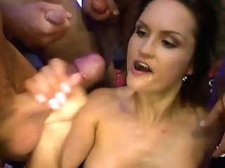 Stunning Cougar Barbara Gets Group-fucked - German Goo Dolls