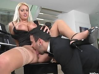 Incredible Superstar In Horny Stockings, Gonzo Porno Scene