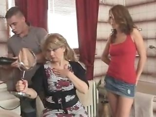 Gfs Hot Mom Drinks His Big Pecker